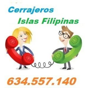 Telefono de la empresa cerrajeros Islas Filipinas